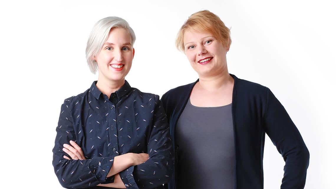 Uutta osaamista graafikko- ja copywriterpuolelle – esittelyssä Marjukka ja Emilia