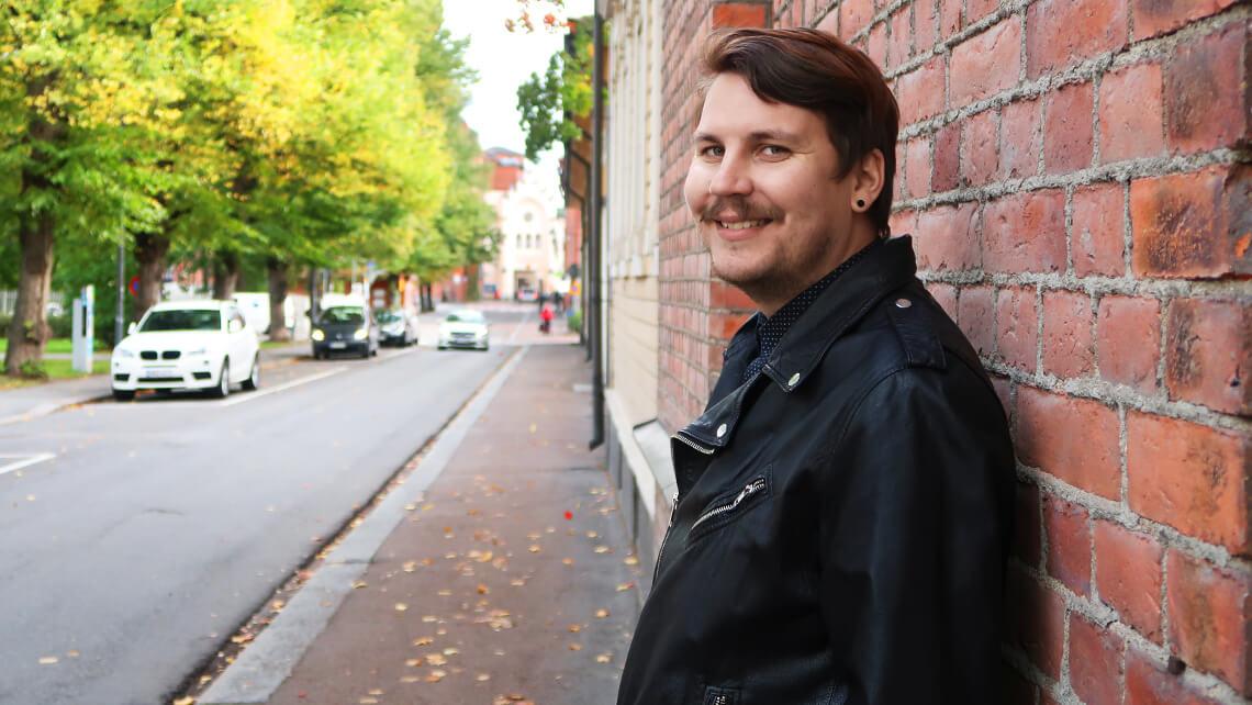 Kuukauden unfairilainen: Uusi sivustokehittäjä Ville on henkinen jokapaikanhöylä