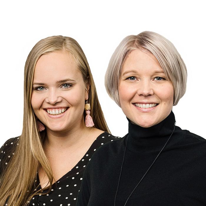 Jonna Lipponen & Johanna Raiskio