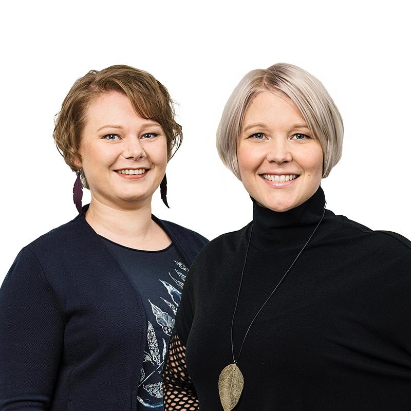 Emilia Särkiniemi & Johanna Raiskio